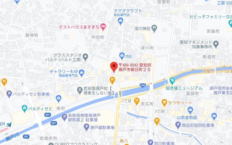 地図の写真